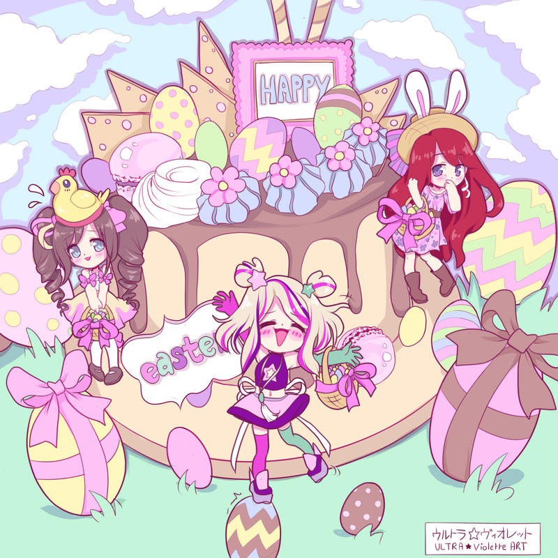 Happy Easter ! by Ultra-Violette