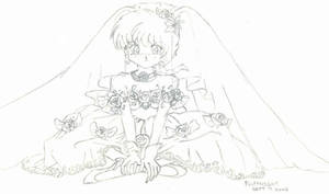 Ranma in Wedding Gown