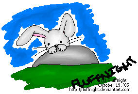 Bunny - Original by fluffnight