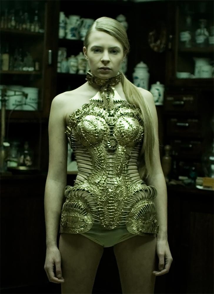 'Very Twisted Kingdom'corset by KasiaKonieczka