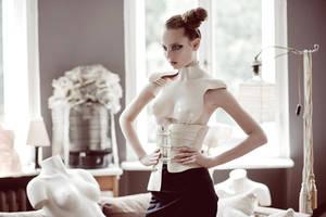 'The Body' corset by KasiaKonieczka
