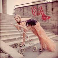 'Mascarade'collection,dress by KasiaKonieczka