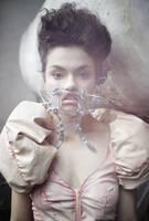 nekromantik:mask,dress by KasiaKonieczka
