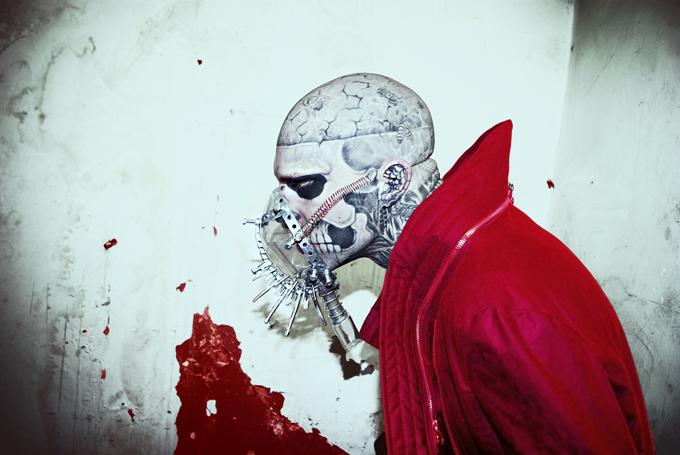 Zombie Boy mask 2 by KasiaKonieczka