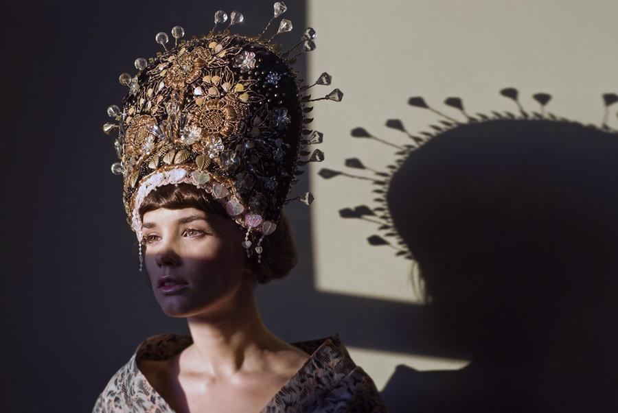 Oriental head piece by KasiaKonieczka