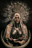 Black Madonna costume by KasiaKonieczka