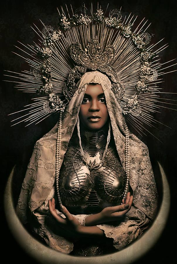 Black Madonna costume by KasiaKonieczka