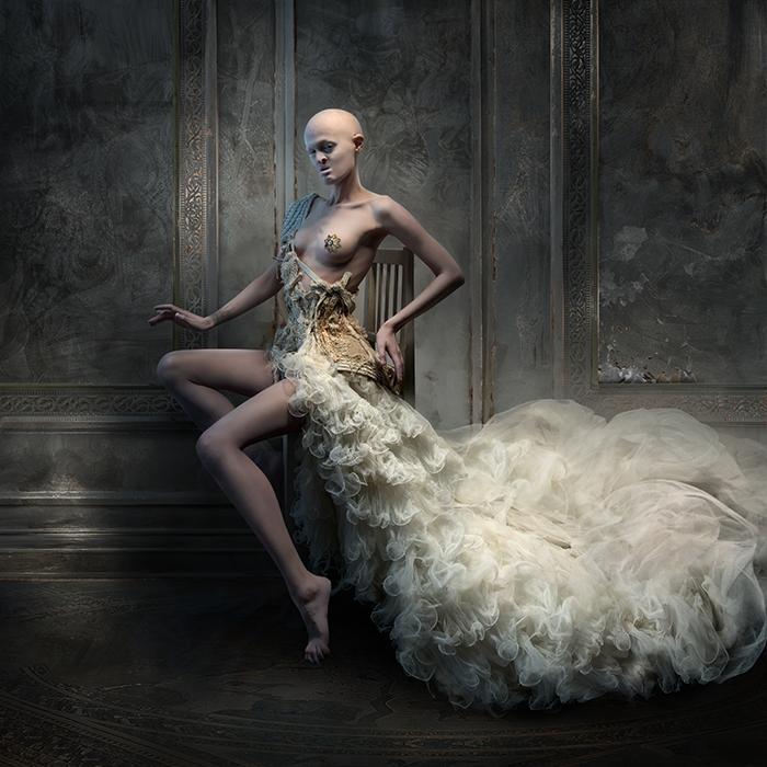 corset and dress by KasiaKonieczka