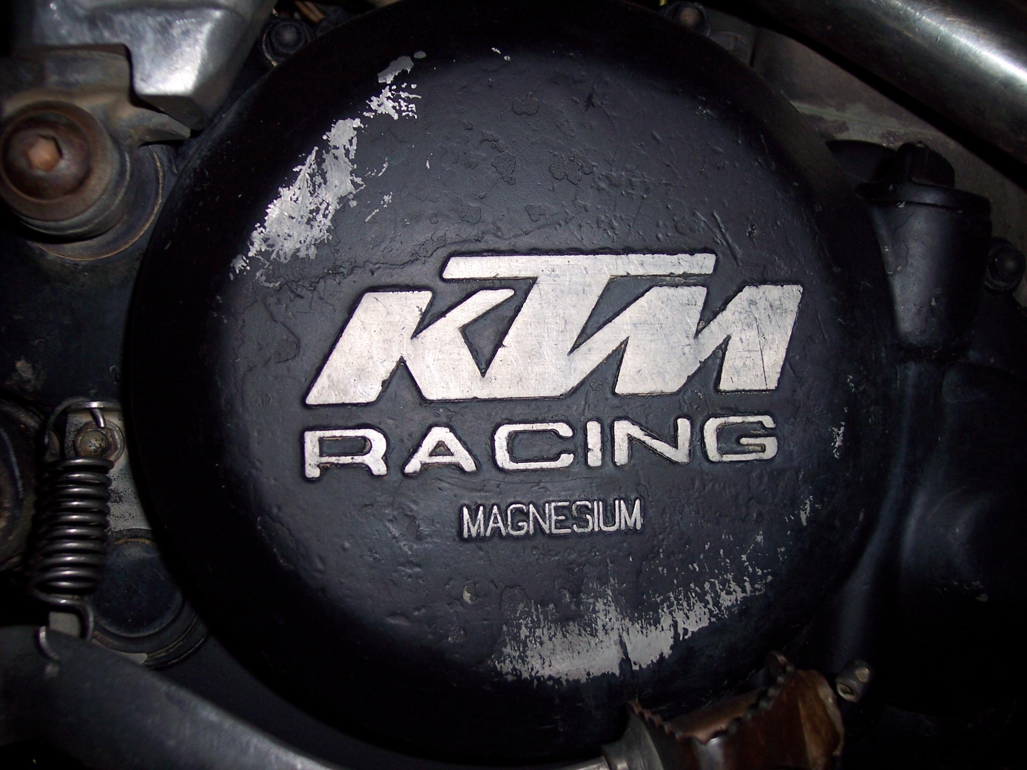 KTM Racing Magnesium by ersinKtm Racing Logo Wallpaper