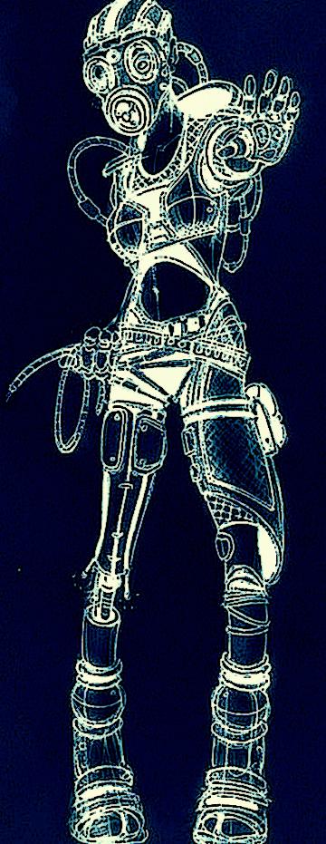 Cyber punk by MountTrouble