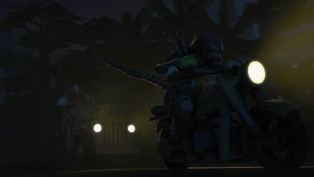 [SFM] Night ride.