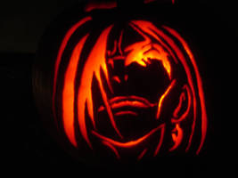 Orochimaru Pumpkin by chibireaper