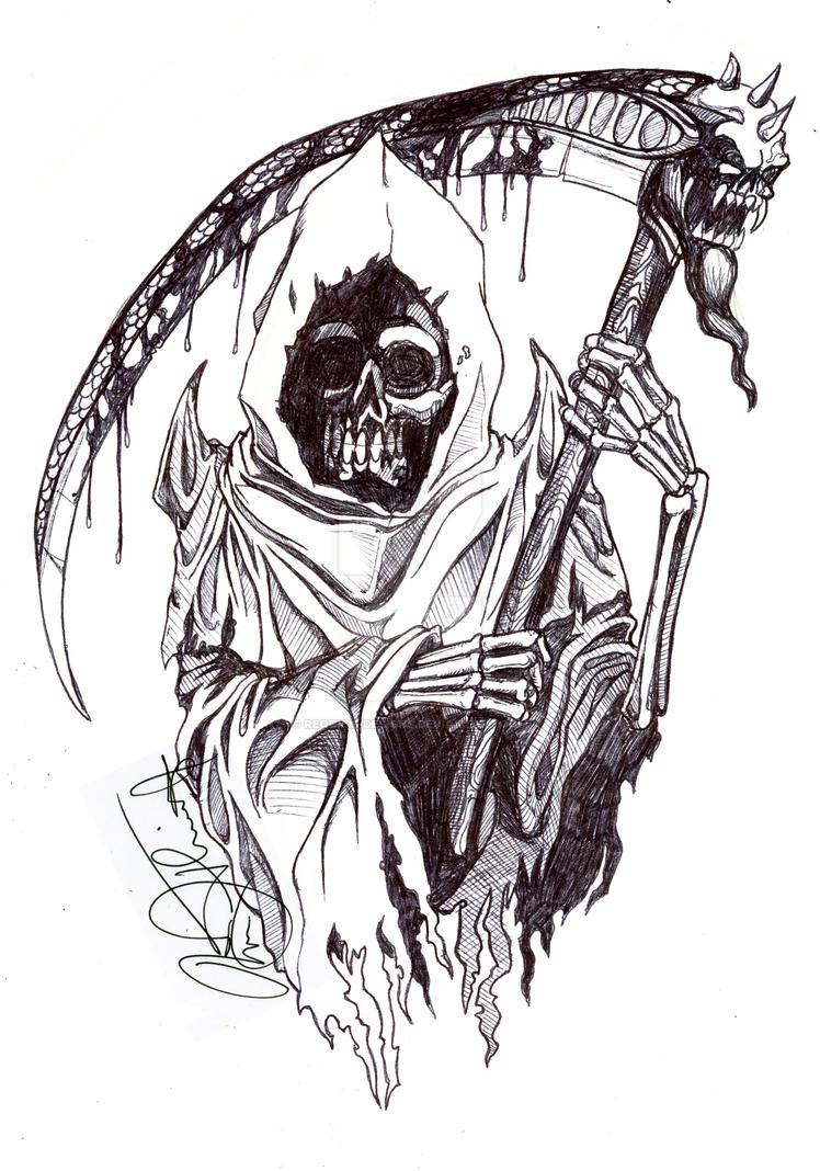 Reaper Inked by requiem-designs