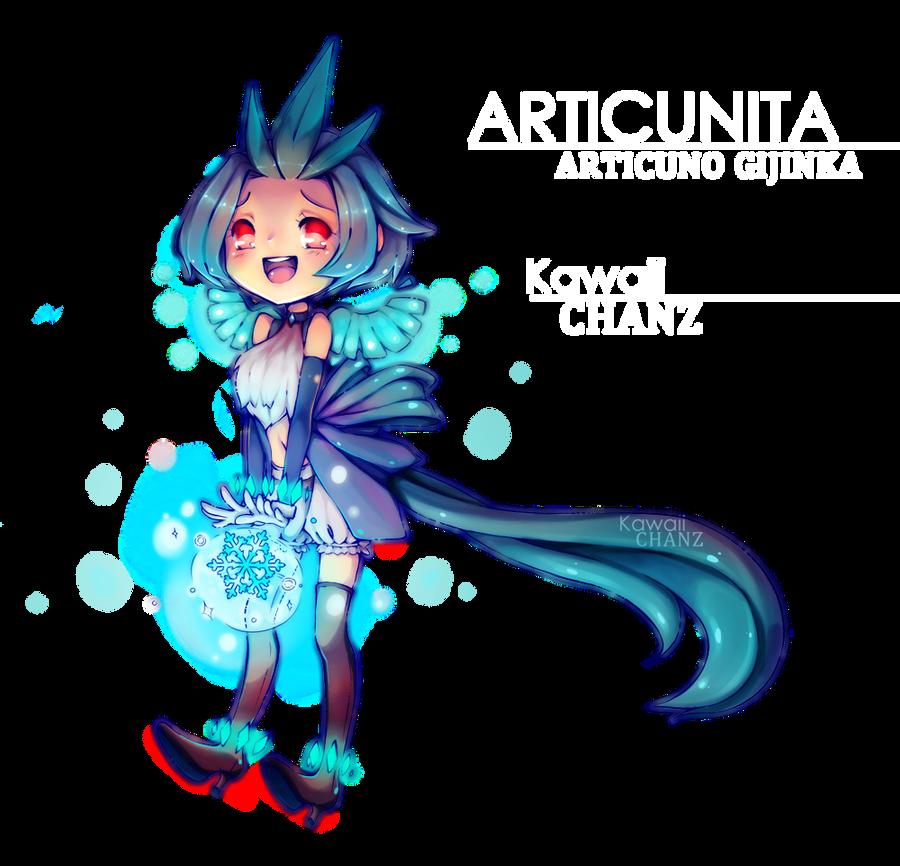 Articuno Gijinka -Articunita- by marmolotus-chz on DeviantArt