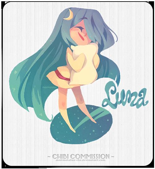 [commission] Vaniraa -Luna- (1) by marmolotus-chz