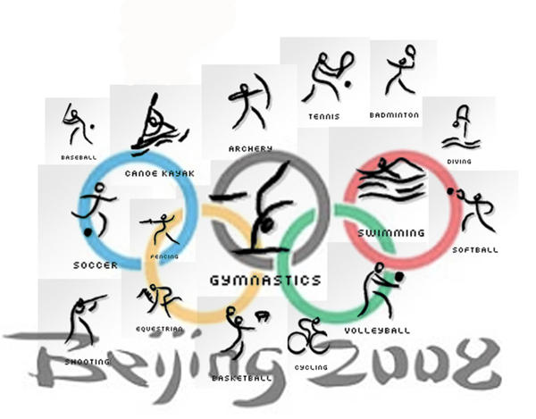 Olympics by redlotusflower