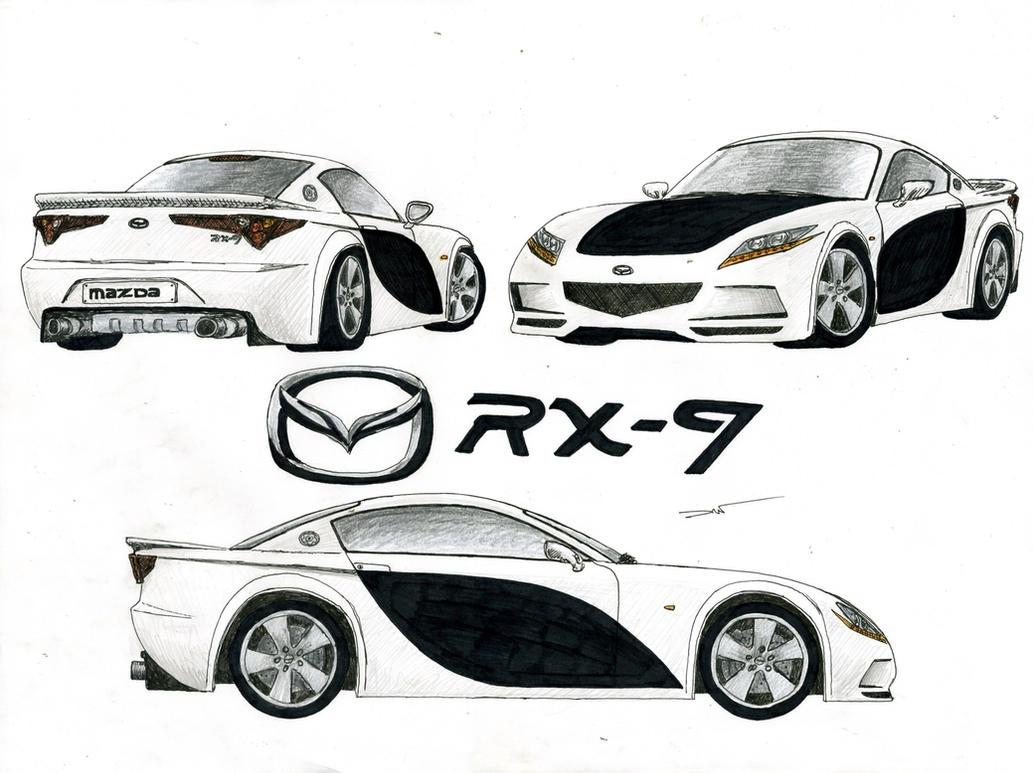0848   19 12   Mazda RX 9 By TwistedMethodDan ...