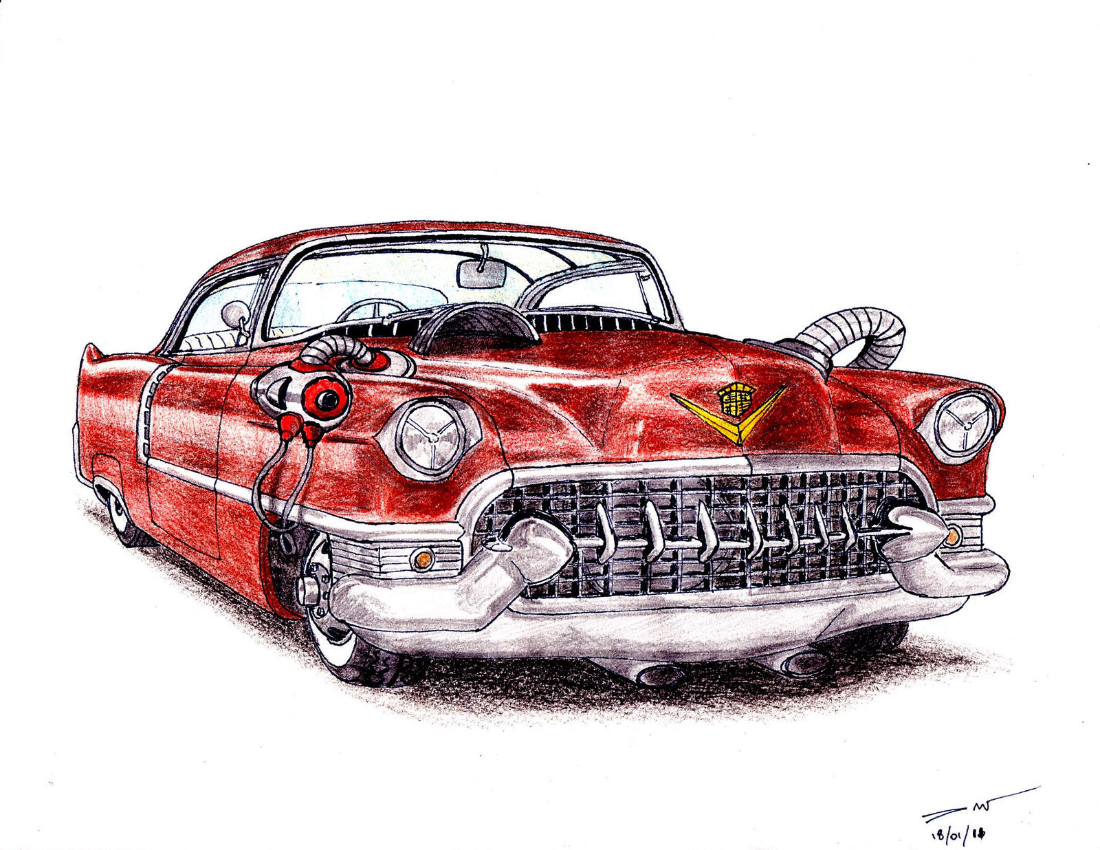 1107 - 1955 Cadillac Series 62 by TwistedMethodDan