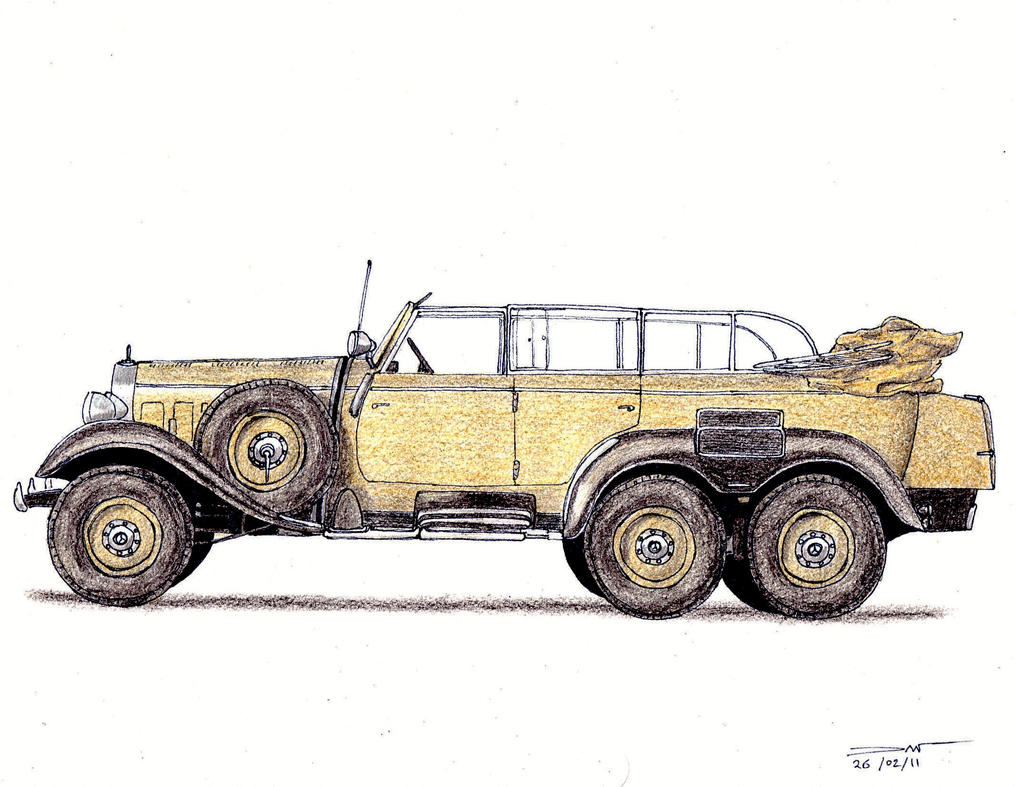 1939 mercedes benz g4 w31 by twistedmethoddan on deviantart for Mercedes benz g4