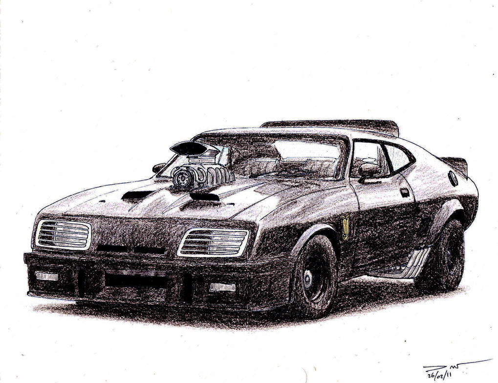 1121 - Mad Max Interceptor by TwistedMethodDan on DeviantArt