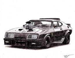 1121 - Mad Max Interceptor by TwistedMethodDan