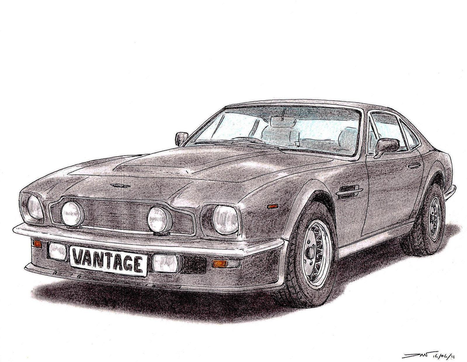1984 Aston Martin V8 Vantage By Twistedmethoddan On Deviantart