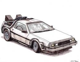 1981 DeLorean DMC-12 BTTF by TwistedMethodDan