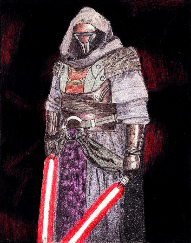 1201 - 20-01 - Darth Revan by TwistedMethodDan
