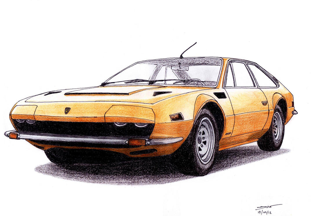 1222 - 19-02 - 1973 Lamborghini Jarama GTS by TwistedMethodDan on ...