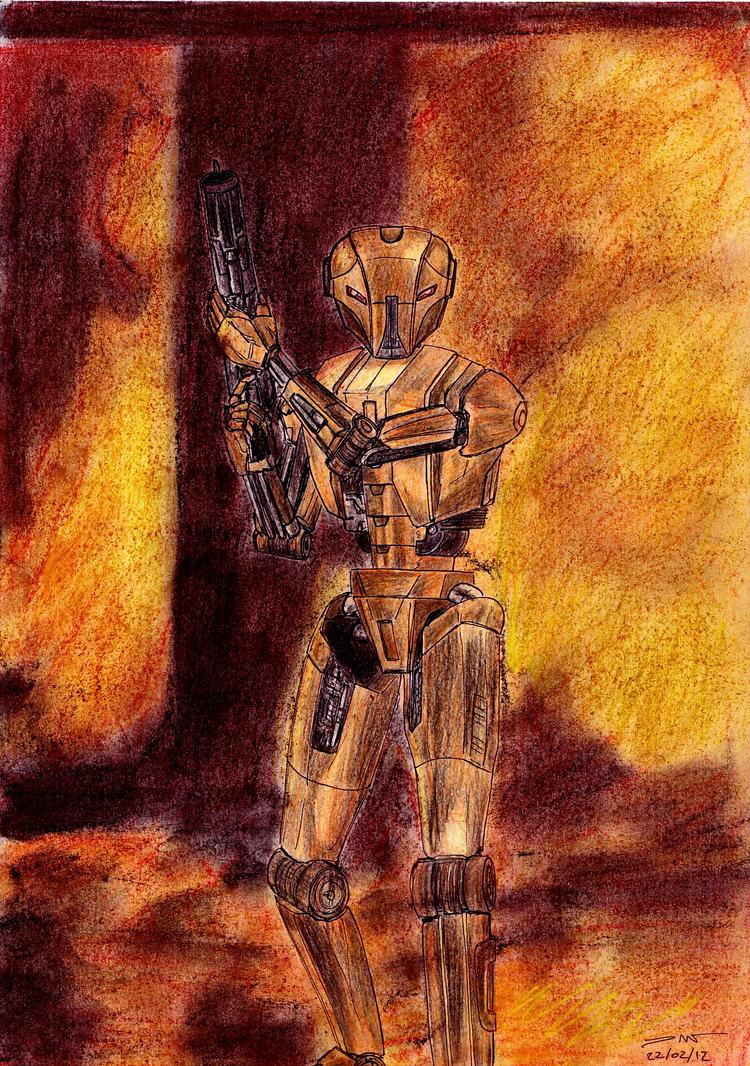 1226 - 22-02 - Star Wars HK-47 Assassin Droid by TwistedMethodDan