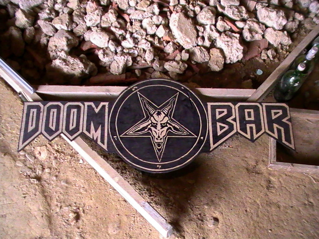 Doom Bar Sign by TwistedMethodDan