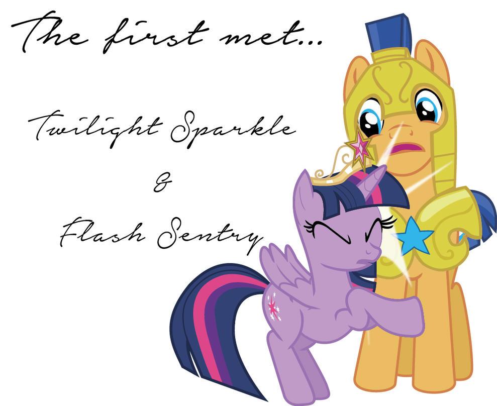 My little pony princess twilight sparkle and flash sentry kiss - photo#14
