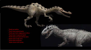 Ice Age 3 Rudy and jurassic world indominus rex