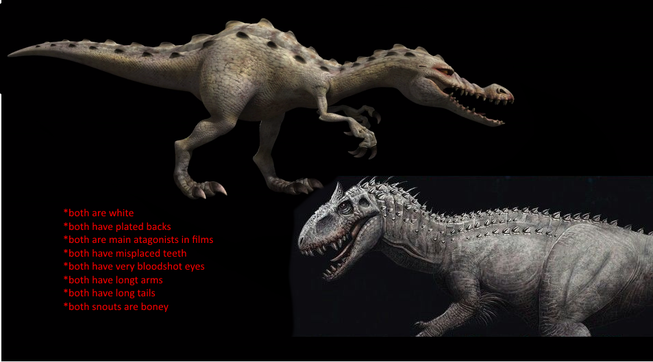 Ice Age 3 Rudy And Jurassic World Indominus Rex By