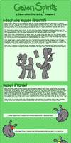 Gaian Spirits - Species Information by Turbuggy