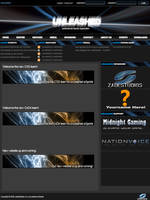 unLeashed eSports template by atomiccc