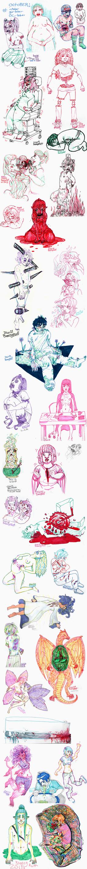 IGO challenge sketchdump by MottInThePot