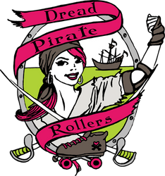 Dread Pirate Rollers Logo by amberfishy