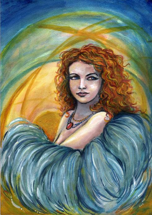 Freya by amberfishy