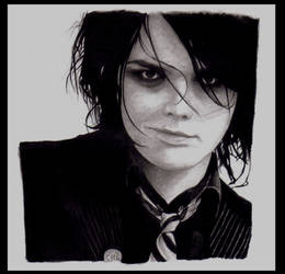 Gerard Way by Inimitable-Aesthete