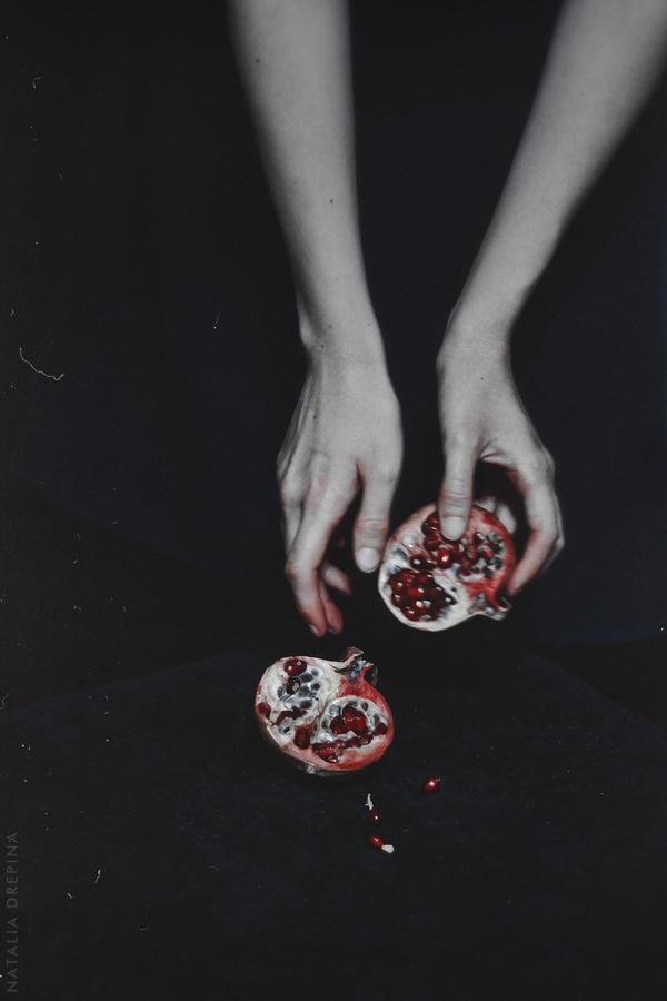 Despair with pomegranate taste by NataliaDrepina