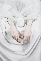 Somnolent Still Life: Dairy Mourning by NataliaDrepina