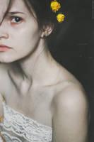 Self-portrait with autumn tone by NataliaDrepina