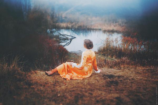 Misty River by NataliaDrepina