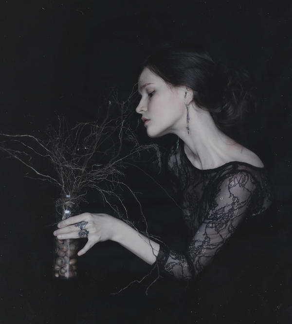 Rooted Melancholy Thoughts by NataliaDrepina
