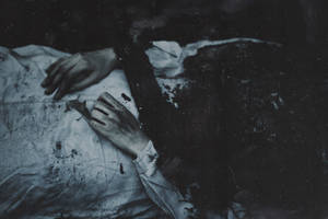 She is swallowed up by grave by NataliaDrepina