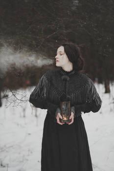 When winter settles in the heart