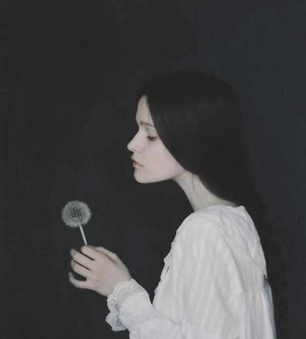Goodnight, ghostly flowers... by NataliaDrepina