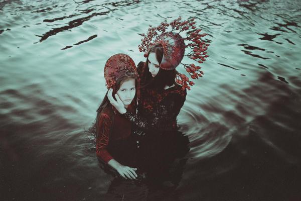 A quiet lake of dreams by NataliaDrepina