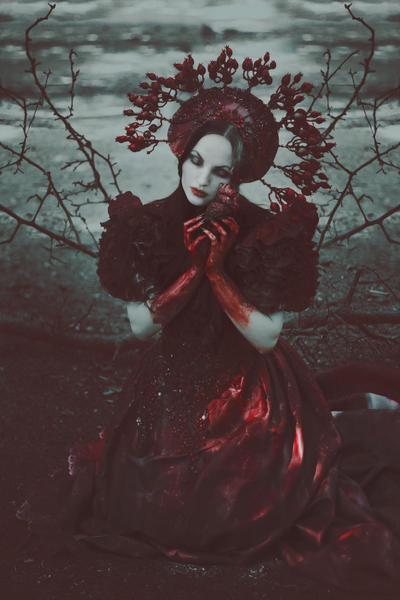 This fading carmine I'll be worn until death by NataliaDrepina